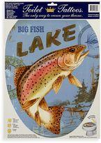 Bed Bath & Beyond Toilet Tattoos® Lake Fish in Elongated