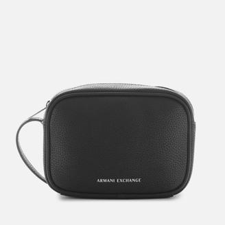 Armani Exchange Women's Camera Case - Black