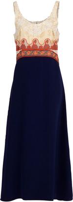 Chloé Lace Embroidered Midi Dress