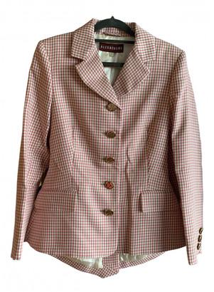 ALEXACHUNG Alexa Chung Pink Cotton Jackets