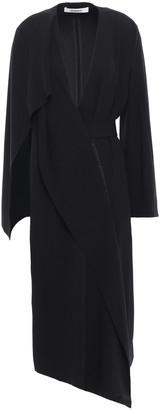 Chalayan Draped Satin-crepe Midi Wrap Dress