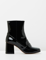 Whistles Ambrose 60s Square Toe Boots