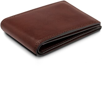 Bosca Leather Bifold Wallet