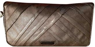 Burberry Metallic Leather Wallets