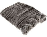 Goma Knit Throw- Black/White