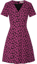 MICHAEL Michael Kors Jacquard Mini Dress - Fuchsia