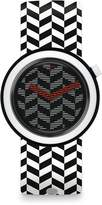 Swatch Men's Originals PNB104 Rubber Analog Quartz Fashion Watch