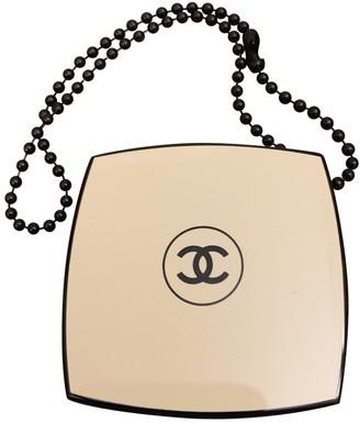 Chanel Beige Plastic Bag charms