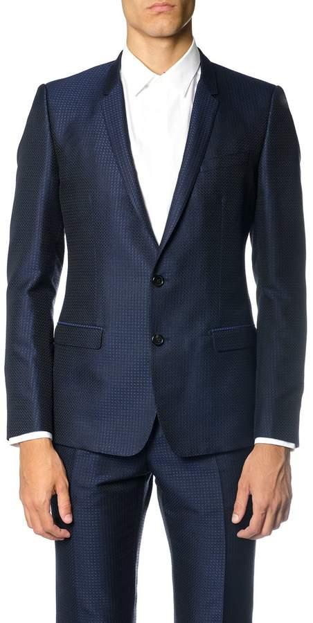 Dolce & Gabbana Wool Silk Blend Suit