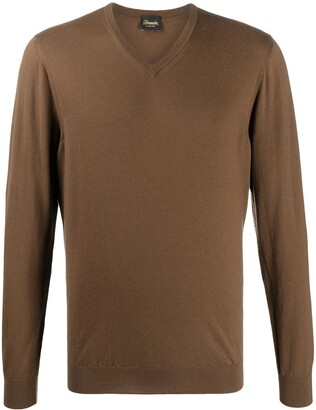 Drumohr V-neck sweater