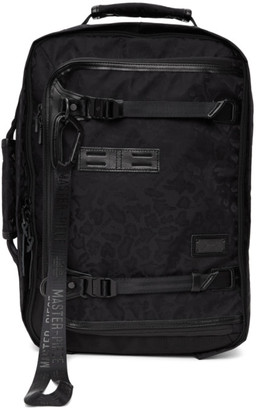 Master-piece Co Black Leopard 25th Anniversary Potential Backpack