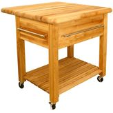 Catskill Craft Grand Workcenter Kitchen Cart With Drop Leaf