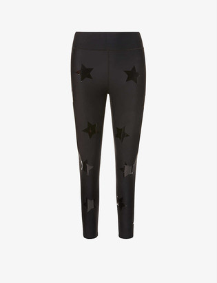 ULTRACOR Ultra Lux star-print high-rise sports-jersey leggings