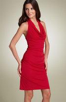 Matte Jersey Halter Dress