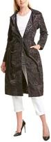 Samantha Sung Parisienne Silk Coat