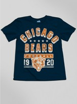 Junk Food Clothing Kids Boys Nfl Chicago Bears Tee-new Navy-m