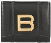 Balenciaga Hourglass Compact leather purse