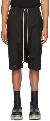 Rick Owens Black Ricks Shorts