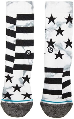 Stance Sidereal (White) Crew Cut Socks Shoes