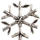 John Hardy Bamboo Snowflake Pendant