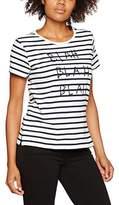 People Tree Peopletree Women's Blah Stripe T-Shirt,8