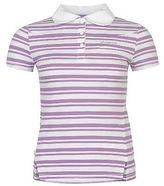 L.A. Gear Womens YD Polo Shirt Tee Top Short Sleeve Fold Down Collar Neck Classic