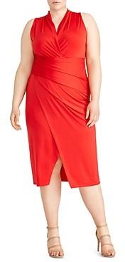 Rachel Roy Plus Bret Ruched Jersey Dress