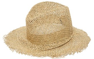 Reinhard Plank Hats - Behge Straw Hat - Womens - Grey