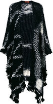 Missoni bouclé shawl - women - Nylon/Mohair/Wool - One Size
