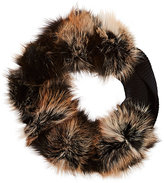 Lanvin WOMEN'S FUR & KNIT STOLE