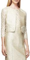 Kay Unger Metallic Lace Jacket
