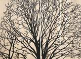 Soundslike HOME Tree Branch Wall Panels Black Large