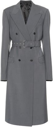 Prada Mohair and wool coat