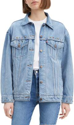 Levi's Reach For The Sky Baggy Denim Trucker Jacket