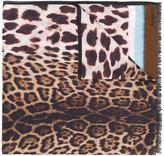 Ungaro leopard print scarf