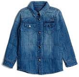 GUESS Quilted Denim Shirt (2-7)