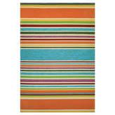 Couristan Covington Sherbert Stripe Hooked Rectangular Rugs