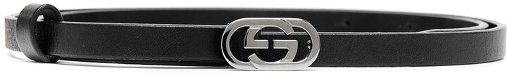 Gucci Pre-Owned GG buckle leather belt
