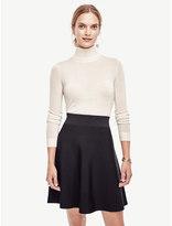 Ann Taylor Petite Extrafine Merino Wool Turtleneck Sweater