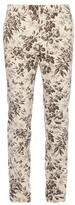 Gucci Herbarium-print Cotton-gabardine Trousers
