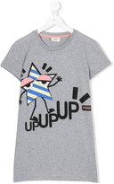 Fendi teen printed T-shirt - kids - Cotton - 14 yrs