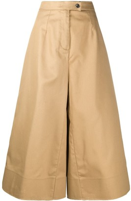 DEPARTMENT 5 Wide-Leg Cropped Trousers