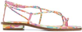 Cult Gaia Juno strappy sandals