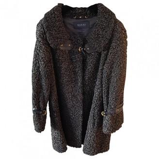 Gucci Brown Fur Coat for Women