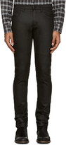 Belstaff Black Denim Raw Stretch Jeans
