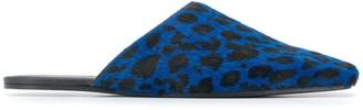 MM6 MAISON MARGIELA Leopard Print Slippers