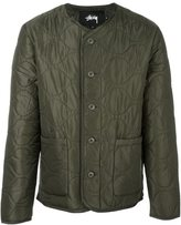 Stussy quilted military jacket - men - Nylon/Polyester - M