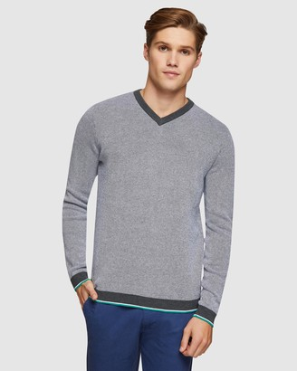 Oxford Andy V-Neck Pullover