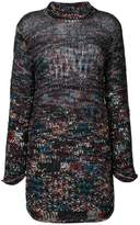 Missoni oversized roll neck jumper
