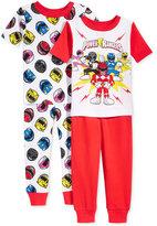 Power Rangers 4-Pc. Cotton Pajama Set, Toddler Boys (2T-5T)